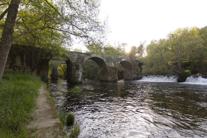 Ponte romana en Ponte Freixo